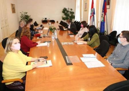 """Održan radni sastanak projektnog tima projekta """"Centar kompetentnosti u Koprivničko-križevačkoj županiji"""""""