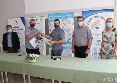Potpisan Ugovor o javnoj nabavi usluge uspostave Centra kompetentnosti u Koprivničko-križevačkoj županiji te razvoja i primjene mehanizama osiguranja kvalitete – grupa 2